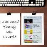 Explicație pentru Yanny | Laurel. Care e de fapt cuvântul?