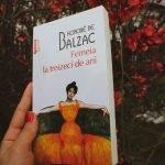 Femeia la treizeci de ani, Honore de Balzac - recenzie
